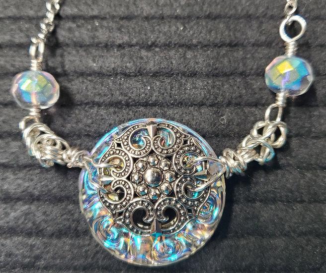 Shimmer Antique Titanium Crystal