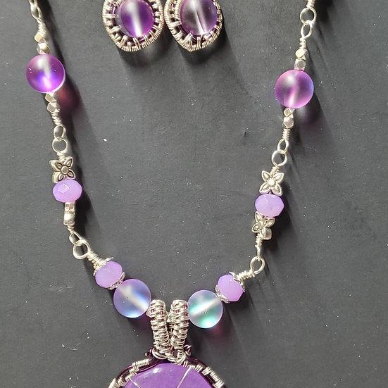 "Purple ""Jade"" Donut Wrap"
