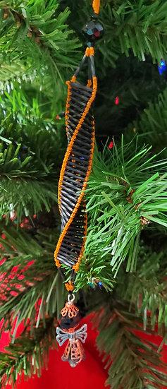 Black & Orange Spiral with Fairy