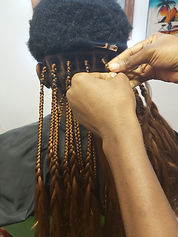 Braiding in action