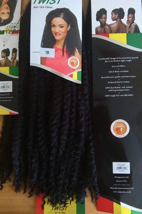 Single Pack Marley Hair