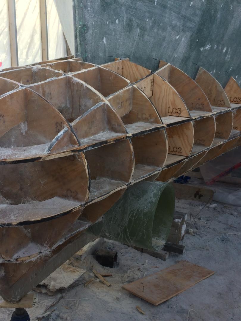 Bulbe bois et fibre