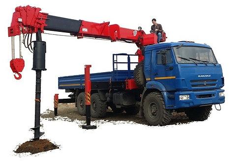 КамАЗ 43118 с БКУ Taurus 086A (Корея)