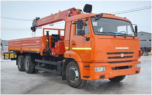КамАЗ 65115 с КМУ PALFINGER INMAN IT-150