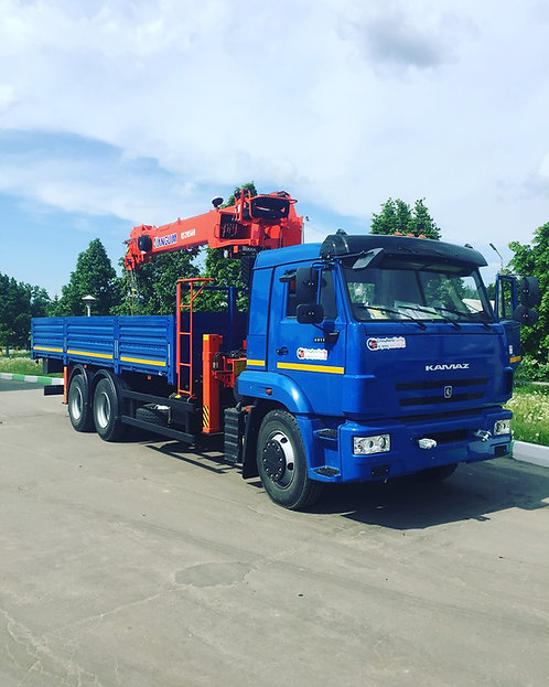 КамАЗ 65117 с КМУ Kanglim KS2056H