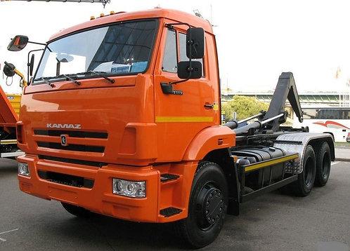 Мультилифт АС-14 (63370С) на шасси КамАЗ 65115-773081-42 с МПР-1
