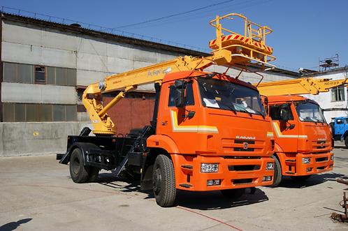 Автогидроподъёмник АПТ-18