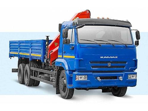 КамАЗ 65117 с КМУ Palfinger PK-15500A