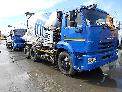 Автобетоносмеситель 58147А на шасси КамАЗ 65115