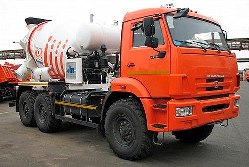 Автобетоносмеситель 58146Т на шасси КамАЗ 43118