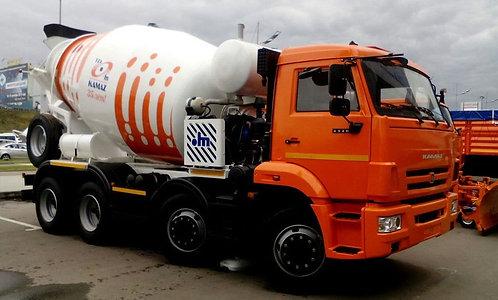 Автобетоносмеситель 58149Y на шасси КамАЗ 6540