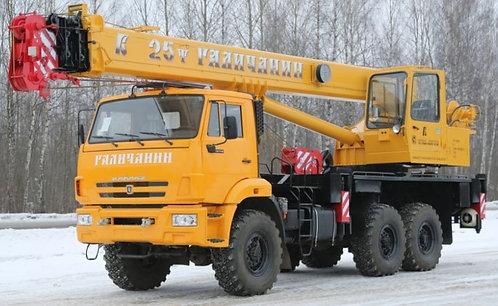 "Автокран ""Галичанин"" КС-55713-5"