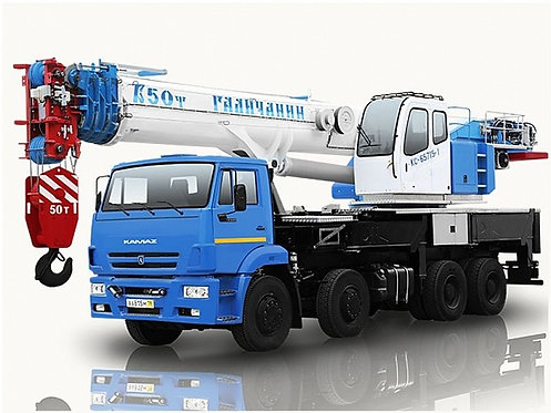 "Автокран ""Галичанин"" КС-65715-1"