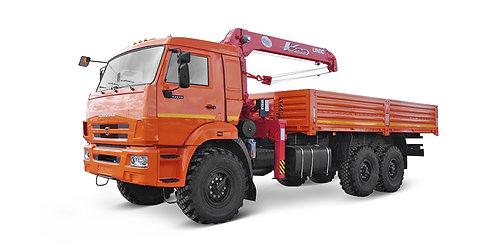 КамАЗ-43118 с КМУ UNIC ERV554