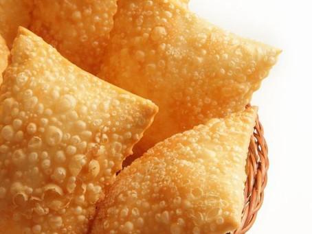 Pastel, um alimento de fácil preparo e com diversas possibilidades de recheios!