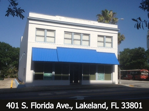 Prime Downtown 3-story   12,000 SF Building (Office/Retail)