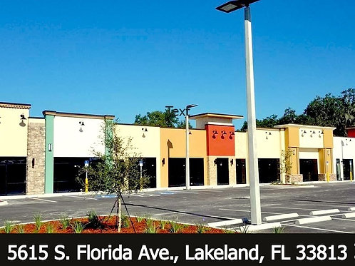 Maryoma Plaza - Last Unit 2,000 SF South End Cap