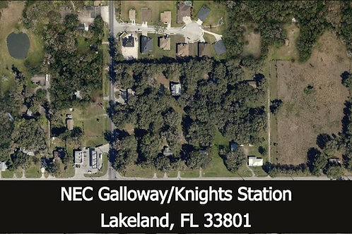 3.63 +/- acres for Commercial Development (retail/gas station)