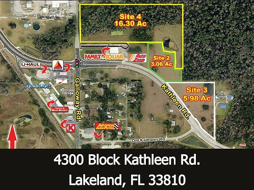 5.98 +/- acres Residential Development 12/units/Acre