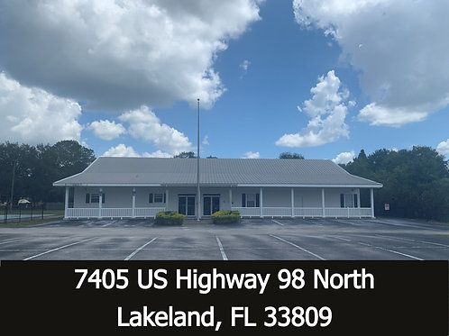 6,076 SF Free Standing Commercial Building ( + 980 SF canopy)