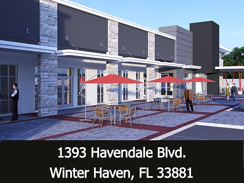 Havendale Courtyard soon to be built - 14,400 SF Retail or Office