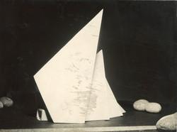 Viste del modello in legno di balsa