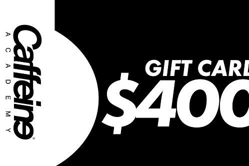 GIFT CARD $400