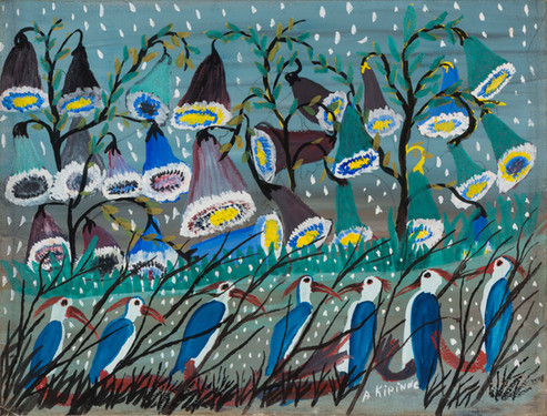 Untitled (Flowers and Birds)