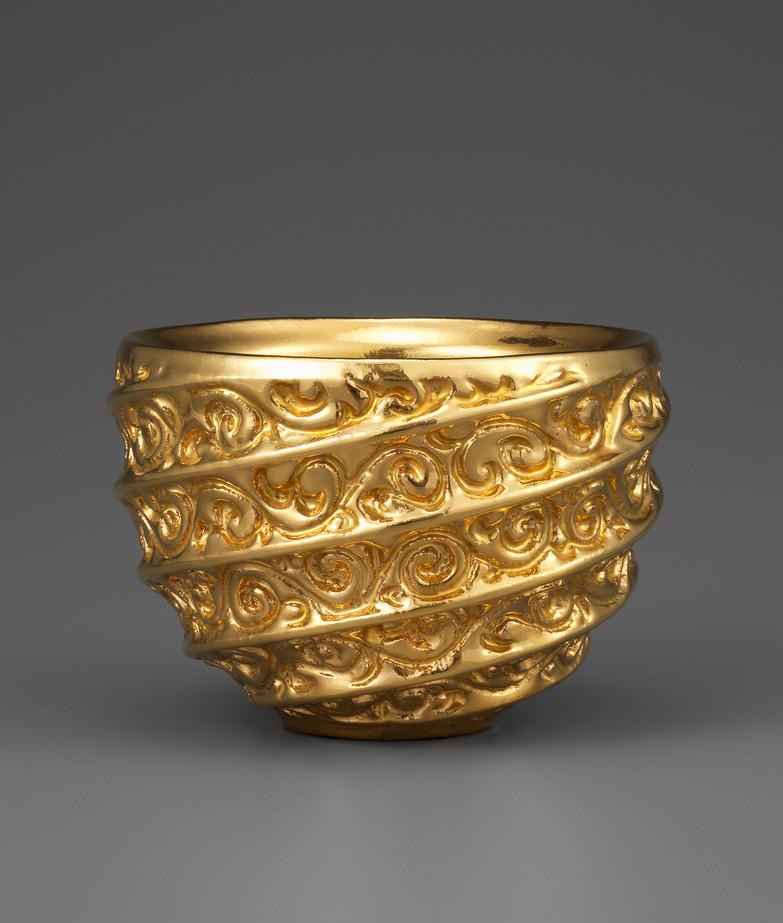 Golden Silk Road Bowl