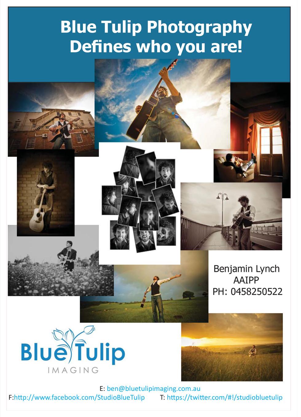 Blue Tulip Photography