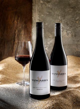 Yangarra Wine Label