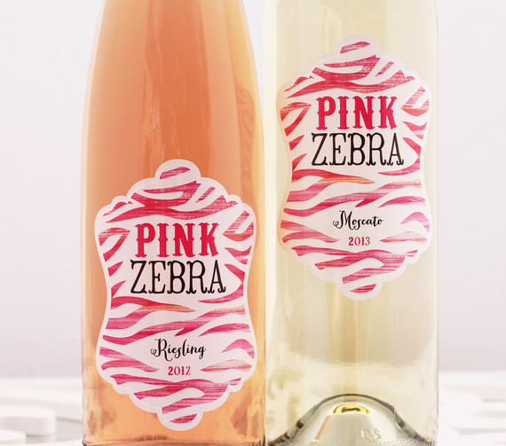 Pink Zebra Riesling and Moscato