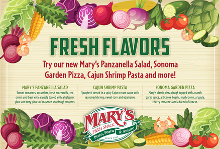 Mary's Spring 2016 Mailer