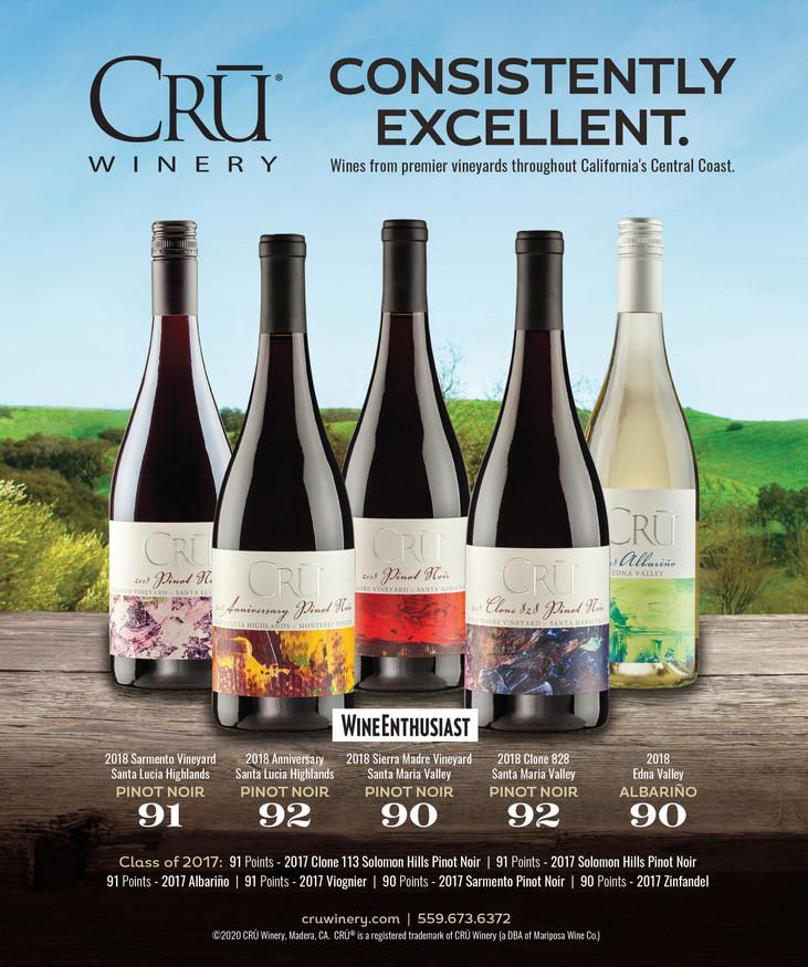 Cru Winery Ad