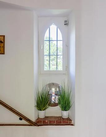 Gîte de la Tour du Saffre - L'escalier