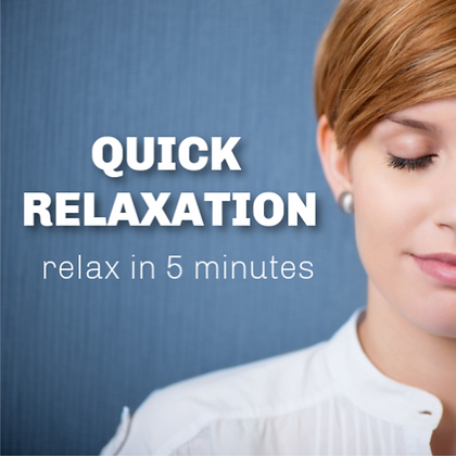 Quick Relaxation to Relieve Stress / Immediate Stress Relief MP3