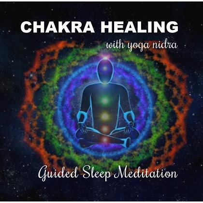 Chakra Healing & Yoga Nidra Guided Sleep Meditation MP3