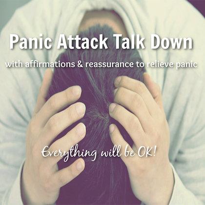 Panic Attack Talk Down MP3