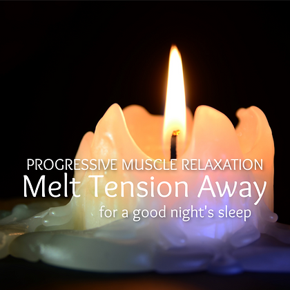 Melt Tension Away Progressive Muscle Relaxation for Sleep MP3