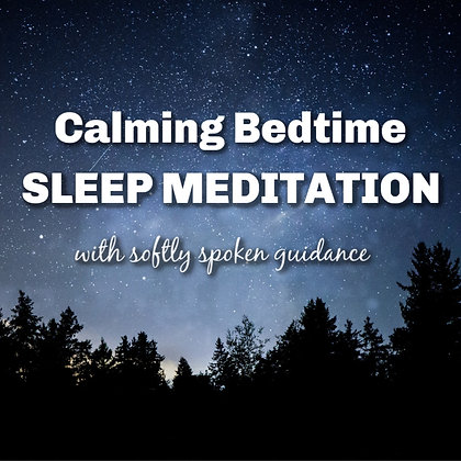 Calming Bedtime Sleep Meditation with Soothing Voice to Help Sleep MP3