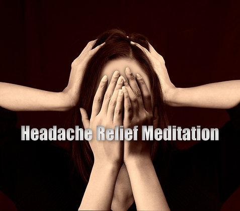Headache Relief Meditation MP3
