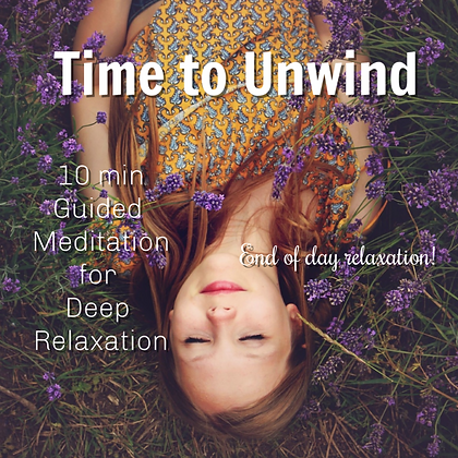 10 Minute Guided Meditation for End of Day Relaxation MP3