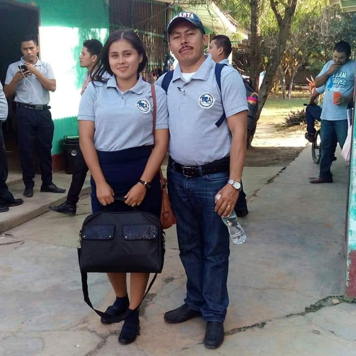Father and Daughter Students