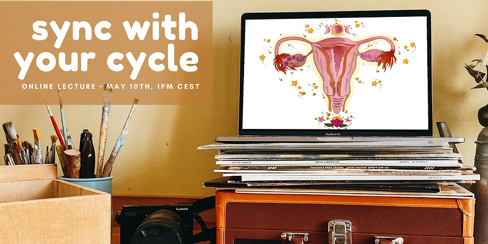 Sync With Your Cycle: Online lecture on menstrual cycle health