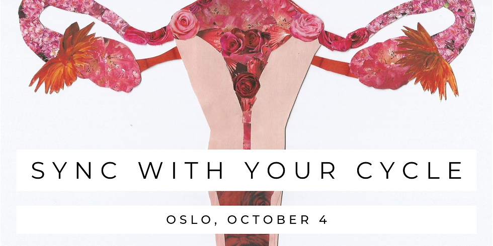 Sync With Your Cycle - lecture in Oslo