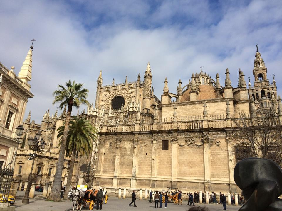 Santa Maria de la Sede Cathedral in Seville, Spain