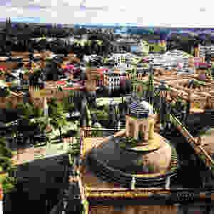 Santa Maria de la Sede Cathedral in Seville, Spain