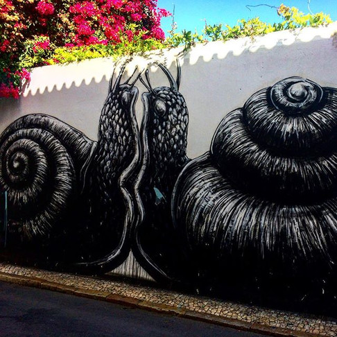 Street Art in Lagos, Portugal: PHOTO TOUR