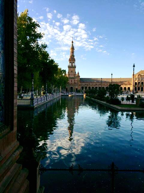Plaza de España in Seville, Spain