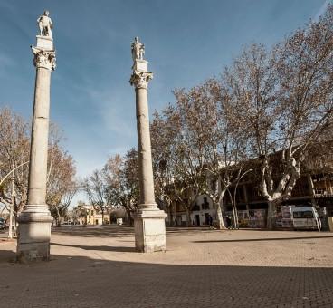 Alameda de Hércules, Seville, Spain